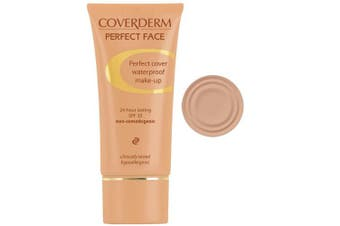 (4) - CoverDerm Perfect Face Concealing Foundation 4, 30ml
