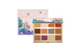 (C01) - CATKIN Eyeshadow Palette Makeup, Matte Shimmer 12 Colours, Highly Pigmented, Creamy Texture Natural Bronze Neutral Cosmetic Eye Shadows (C01)