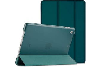 (Emerald) - ProCase iPad 26cm 2019 Case 7th Generation (A2197 / A2198 / A2200), Slim Lightweight Stand Protective Case Translucent Frosted Shell Smart Cover for 2019 Apple iPad 26cm –Emerald