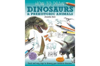 How To Draw: Prehistoric Dinosaurs (How To Draw)