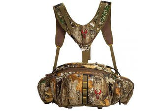 (Realtree EDGE) - Badlands Monster Fanny Pack with Fold Down Workstation