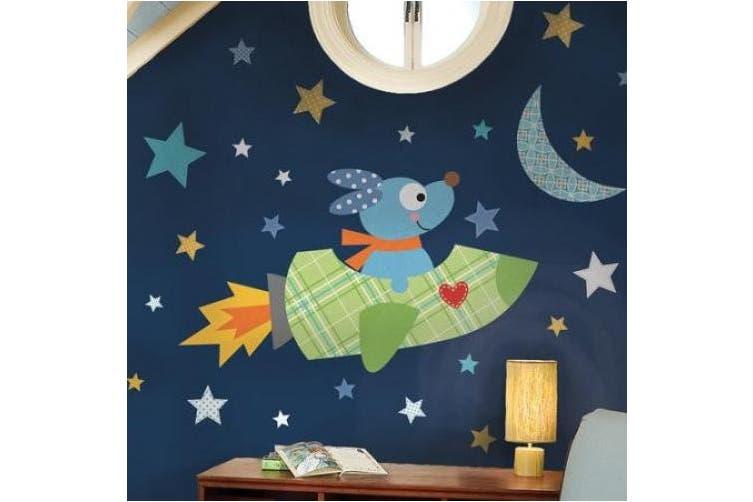 (Multi) - RoomMates Rocketdog Peel & Stick Giant Wall Decals (Rocketdog)