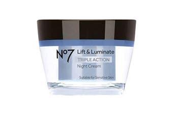 (Standard) - No7 Lift & Luminate Triple Action Night Cream 50ml