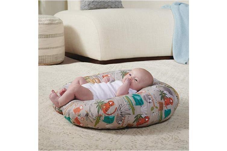 Boppy Original Newborn Lounger, Woodtone Jungle, 00059009240490