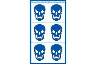 Armour Etch Rub N Etch Stencil Skulls, 13cm by 20cm