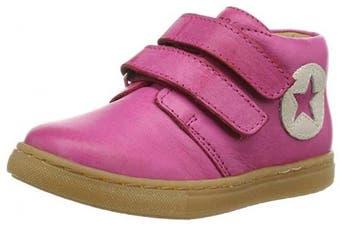 (21 EU, Pink - Pink (14 Pink)) - Bisgaard Schuh Mit Klettverschluss, Unisex Babies' Baby Shoes