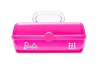 Caboodles Pretty In Petite Barbie Classic Case, Make-Up & Accessory Case, Iconic Pink