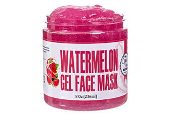 Spa's Premium Water Melon Gel Face Mask, Skin-soothing, Nourishing watermelon face mask, Refreshing and soothing, Gel mask with vitamin A and C