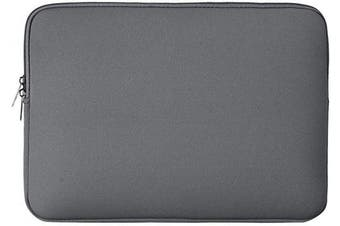 """(15.6"""", Grey) - RAINYEAR 40cm Laptop Sleeve Protective Case Soft Carrying Zipper Bag Cover Compatible with 40cm Notebook Computer Ultrabook Chromebook (Grey)"""