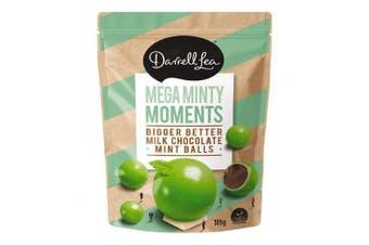 Darrell Lea BB's Choc Mint Balls 185g