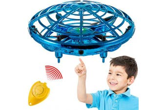 Hand Operated Mini Toy Drone for Kids, Upgraded UFO Flying Ball Toy with LEDs, USB Rechargeable Indoor Drone, Most Popular 2019 Birthday for 4, 5, 6, 7 Year Old Boys and Girls
