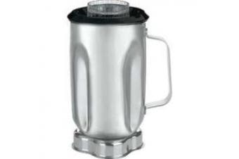 (CAC33) - Waring Commercial CAC33 Stainless Steel Container with Blade Assembly and Lid, 950ml