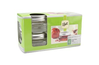 Ball(R) Wide Mouth Canning Jars 4/Pkg