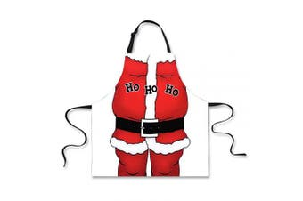 (Ho Ho Ho) - Advocator Christmas Pattern Kitchen Apron for Women Ladies Adjustable Cooking Baking Gardening Extra Long Aprons