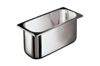 (7.6l) - World Cuisine 41471-17 7.6l Stainless Ice Cream Container