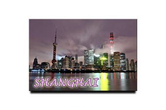 Shanghai Fridge Magnet China Travel Souvenir