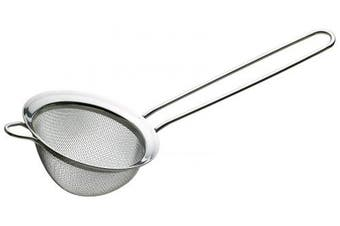 (Kitchen Craft) - KitchenCraft Le'Xpress Loose Leaf Tea Strainer/Small Sieve, Stainless Steel, 8 cm