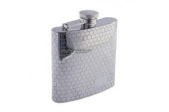 Colonel Conk Sunstar Model 1007 Rimless Flask with Honeycomb Patter...
