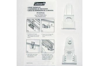 Coleman Cooler Hinge Repair Kit #5278A1241 - For Models 6277 & 6278 - Replacement Parts