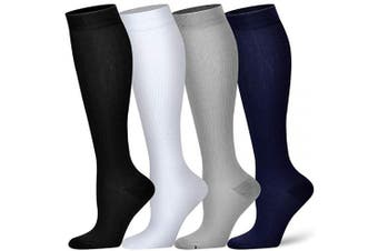 (L/XL(US Women8-15.5/US Men8-14), Assort 1) - Compression Socks for Women and Men - Best Athletic,Circulation & Recovery