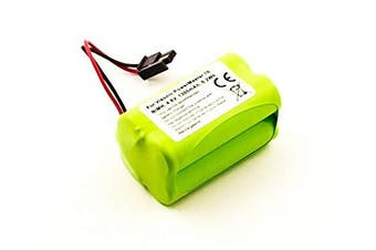 Battery suitable for Visonic PowerMaster 10, NiMH, 4.8 V, 1300 mAh, 6.2 Wh