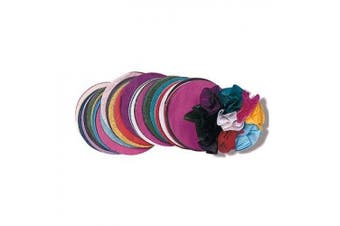 ROYLCO INC. R-2172 4 Tissue Circles Color Collages