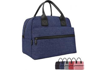 (Blue) - Lunch Bag for Adults Insulated Lunch Box for Women Lunch Boxes for Work Large Cool Lunch Tote Bags- Blue