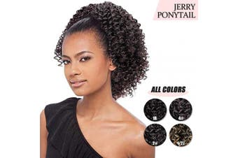 (4#) - AISI BEAUTY Short Afro Curly Ponytail Hair Piece for African American Black Women Ponytail Extension Afro Drawstring Curly Ponytail for Women(4#)
