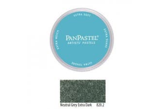 (neutralgreydark) - Armadillo Art and Craft 9ml PanPastel Ultra Soft Artist Pastel, Neutral Grey Extra Dark 2