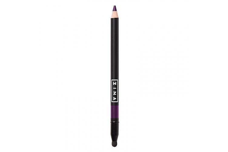 (206 Purple) - 3INA Makeup Cruelty Free Paraben Free Eye Pencil with Applicator 1.36 g - 206 Purple