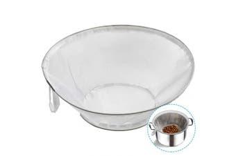 TENRAI Nut Milk Bag, Multiple Usage Reusable Food Strainer Almond Milk Bags/Soy Milk - Cold Brew Coffee/Juices/Yoghurt Filter (large)