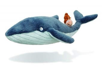 The Snail on the Whale Soft Toy 61238 18cm