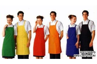CHEFSKIN big & tall CHEF SET: 1 APRON + 1 HAT WHITE , FITS 3X TO 5X SIZES LIGHTWEIGHT, Easy Care, Excellent for School, Fundraisers, Presentations, etc Costume