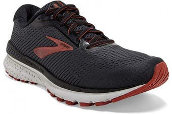 (8 D US, Black/Ebony/Ketchup) - Brooks Mens Adrenaline GTS 20 Running Shoe