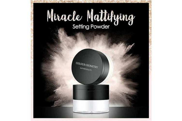 (2#Light skin tone) - Miracle Mattifying Setting Powder (2#Light skin tone)