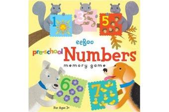 eeboo Pre-School NUMBERS MEMORY GAME