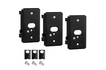 EwinYee Black Wall Mount Bracket for Bose SlideConnect WB-50 (UFS-20), Lifestyle 525 535 III, ifestyle 600, soundtouch 300 soundtouch 520, CineMate 520