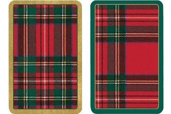 Playing Cards-Deck of cards For Games-Poker Gift Set Plaid Design