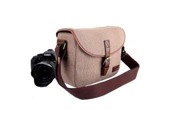 Camera Shoulder Bag, DSLR Camera Bag with Removable Insert Compartment Waterproof Camera sling Bag with adjustable shoulder stip for Nikon Canon Sony Pender KR Series SLR Cameras and Lens
