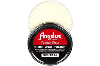 Angelus Perfect Stain Leather Shoe Wax Polish Neutral for Leather Shoes And Boots Water Repellent - Neutral Colour