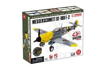 4D Master-Messerschmitt BF-109 F-2 Model Aeroplane Puzzle