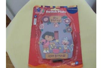 Dora the Explorer Glow-In-the-Dark Switch Plate