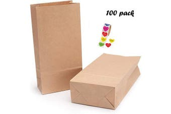 (18*9*5.5) - Brown Paper Storage Bags,Paper Sandwich Bags,Snack Bags Paper,Kraft Brown Paper Bags,Paper Bags for Food,Grocery Bag Paper,Bottom Paper Bags,Paper Bags (18 * 9 * 5.5)
