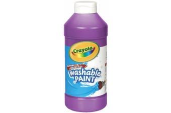 Washable Paint, Violet, 16 oz