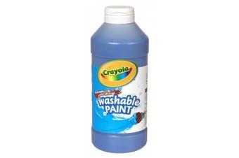 Washable Paint, Blue, 16 oz
