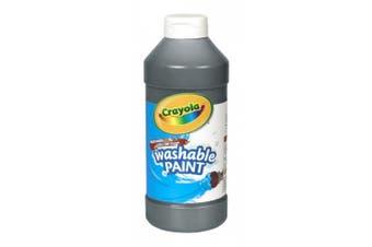 Washable Paint, Black, 470ml