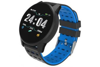 (Blue) - vikano Fitness Tracker, Activity Tracker Watch with Heart Rate Monitor Waterproof Smart Fitness Band with Step Counter Calorie Counter Pedometer Watch for Kids Women and Men