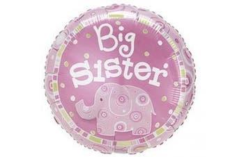 Big Sister Elephant 46cm Mylar Balloon
