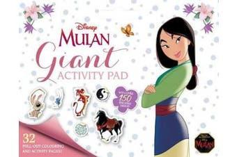 Disney Mulan: Giant Activity Pad by #REF!
