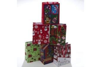Small Assorted Christmas Gift Bags